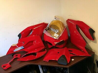 Ducati Panigale 1199 S Set Of Bodywork Fairing Left Right Side Tail Seat Nose