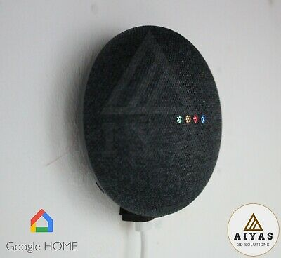 SOPORTE INVISIBLE Google Home Mini Pared Sujeción Perfecta y Resistente 3D