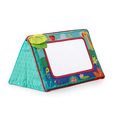 Bright Starts Sit and See Safari Floor Mirror colorful cheerful frame