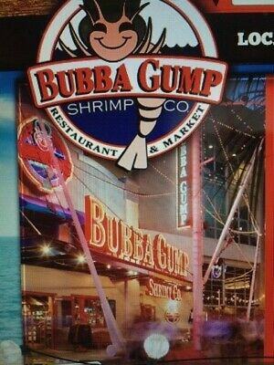 Bubba Gump Shrimp Co. Gift Card - $50 or $100 - Free shipping