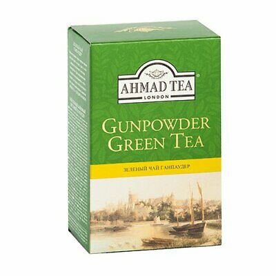 New AHMAD TEA , Gunpowder  Green Tea, 250 g,  Té Verde , Best Before  01/10/2021