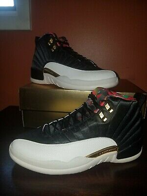 AIR JORDAN 12 RETRO CNY 2019 CHINESE NEW YEAR In Hand Ready to Ship.