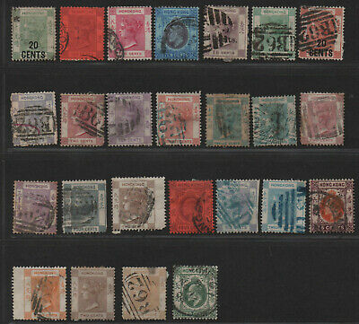 *$Hong Kong old stamp collection, nixed condition, high Cv.
