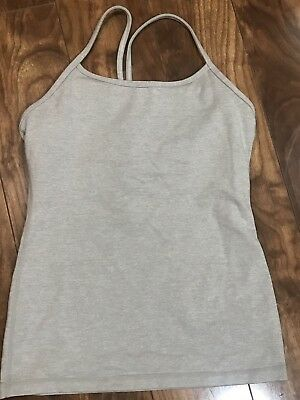 4e8e1a0661359 WOMEN S LULULEMON POWER Dance Racerback Tank Top Size 6 Yoga Workout ...