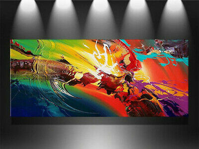 YA807 Modern Home Wall decor Large Abstract oil painting Hand-painted Color art