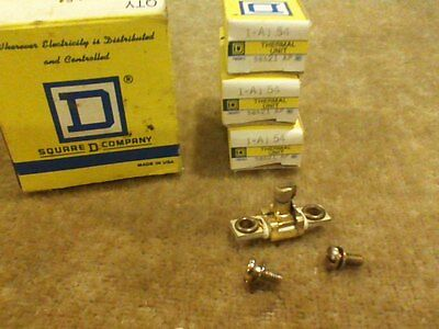 3 New Square D Overload Relay Thermal Units A1 54 Free Shipping