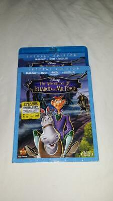The Adventures of Ichabod and Mr. Toad (Blu-ray/DVD) **Case/Slipcover Only**