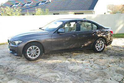 Voiture Bmw 318d F30 05 2013 59800km 16800 Euros Ext Marron Int