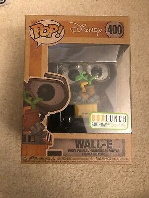 Funko Pop Disney Pixar #400 Wall-E Earth Day Box Lunch Exclusive IN HAND