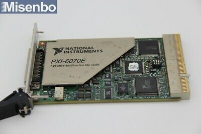 100% TEST National Instruments NI PXI-6070E Multifunction I/O Card