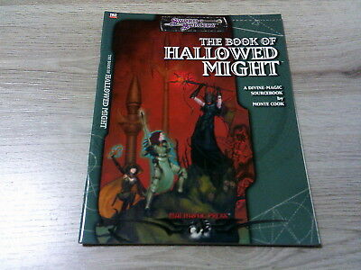 d20 The Book of Hallowed Might Accessory 2003  Mulhavoc Press WW16103 EX
