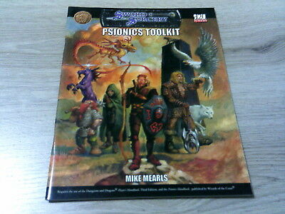 d20 Psionics Toolkit Accessory SC Fiery Dragon Productions 2002 WW16006 EX
