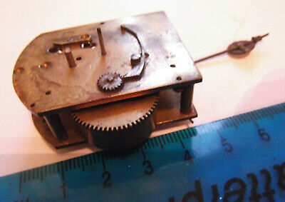 antique minature clock movement to restore.