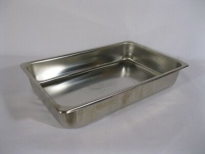 Medical Instrument Tray -Stainless Steel - 12-1/4 x 7-3/4 x 2-1/4