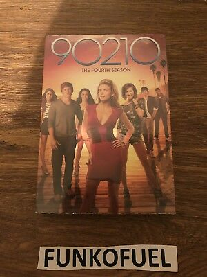 90210: The Fourth Season (DVD, 2012, 6-Disc Set) Brand New Factory Sealed