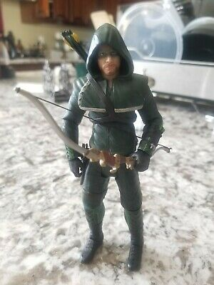 "DC Collectibles Direct Green Arrow TV Show 7"" Action Figure  Oliver Queen Loose"