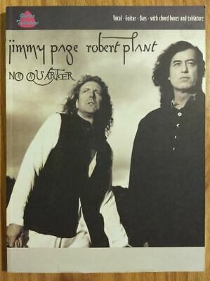 Jimmy Page / Robert Plant NO QUARTER Guitar Tab Bass Tablature songbook Zeppelin