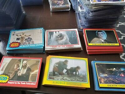 Star Wars Heritage Trading Cards Topps Complete Base Set 1-120 P3 P5