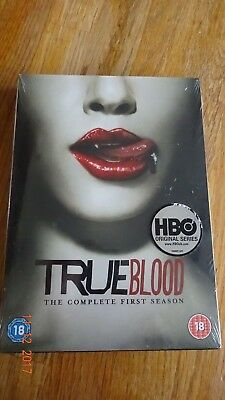 True Blood New And Factory Sealed Complete First Season Dvd Set