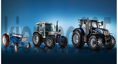 A3 Ford//New Holland Tractor T7 /& FR920 Forage Harvester Silage Poster Brochure