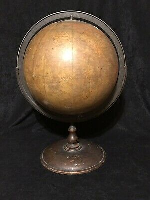Cartocraft 12 Inch Globe Published By Denoyer Geppert Co