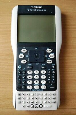 Texas Instruments TI-Nspire Handheld with Touchpad Calculator