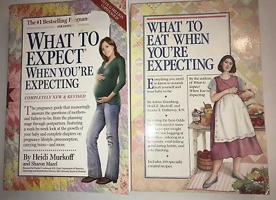 What To Expect When Your Expecting - What To Eat When Your Expecting - 2 Books