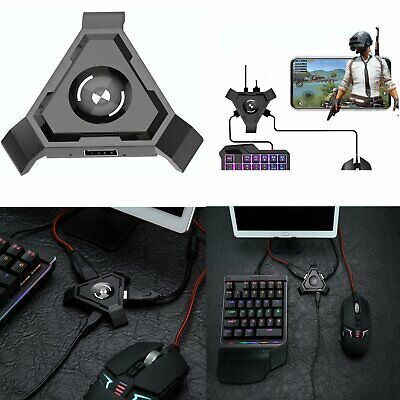 PUBG MOBILE GAMING Dock Mouse Keyboard Converter Adapter For Phone