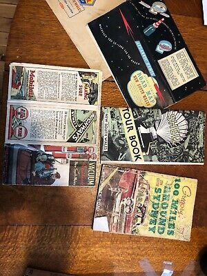 Bulk Vintage Retro Collection Of NSW Sydney Road Touring Map Tour Book Guide