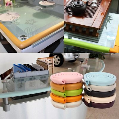 2M Counter Baby Safety Table Edge Corner Cushion Strip Softener Bumper Protector