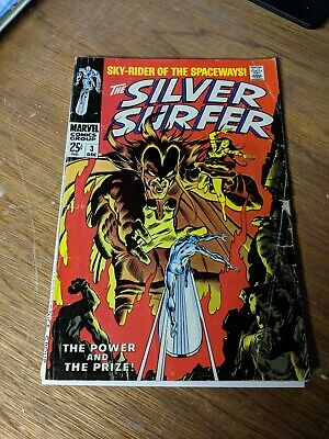 SILVER SURFER #3 first Mephisto GD+