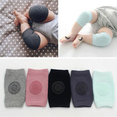 2x Set Baby Infant Toddler Crawling Knee Pads Cushion Protector Legs Warmer Pair