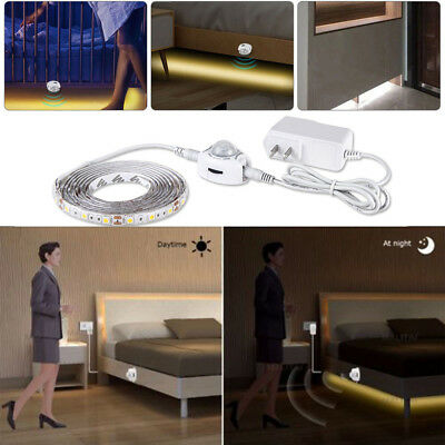 1-5M LED Cabinet Light Motion Sensor 2835 SMD LED Strip lamp with Power supply