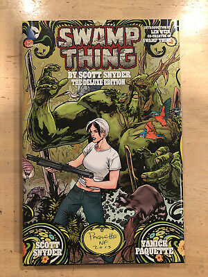 Swamp Thing By Scott Snyder Deluxe Edition (The New 52) Hardcover