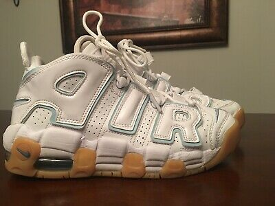 12cb94d622ad Youth Nike Air More Uptempo Basketball Shoes - Ocean Bliss - Size 4.5Y