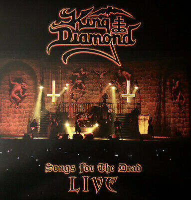King Diamond - Songs For The Dead Live 2 x LP COLORED VINYL ALBUM new RECORD