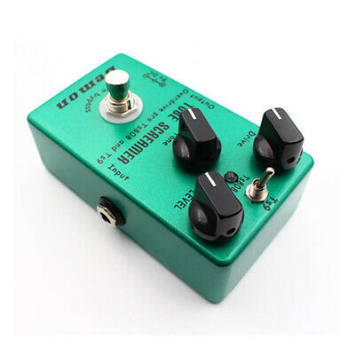 Upgraded Effect Pedal Distortion Tube Green TS9 Overdrive Screamer Brand New
