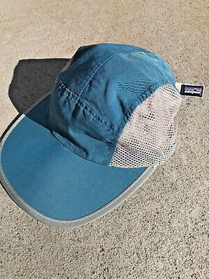 3a7f7023d3339 90s Vintage Patagonia Duckbill 5 Mesh Panel Cap Hat Made in USA Medium M  Rare