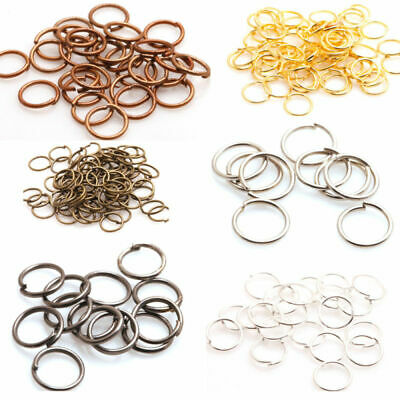 Wholesale NEW DIY 3mm/5mm/6mm/7mm/ Jump Rings Open Connectors Jewelry Making
