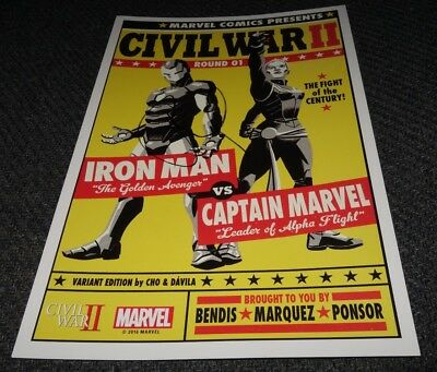 Robert Downey Jr Signed Iron Man Marvel Comic Book Cover