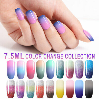 UR SUGAR 7.5ml Thermal Color Changing Soak Off UV LED Gel Nail Polish