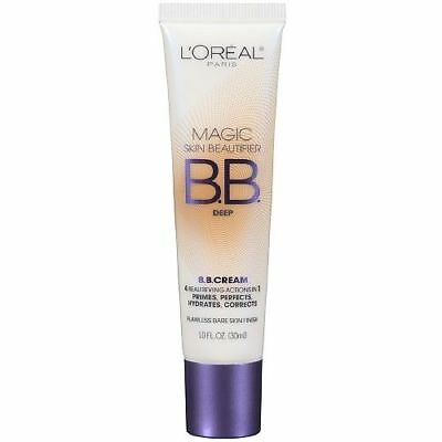 Loreal Magic Skin Beautifier BB Cream Primes,Corrects,Hydrates - 816 Deep