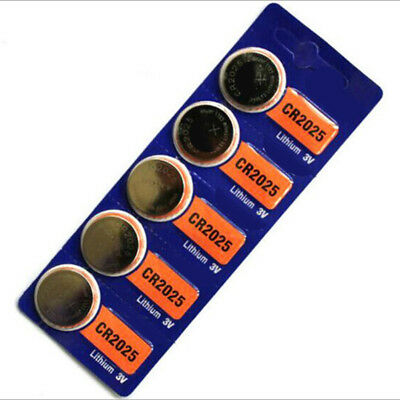 1 Pack CR2025 3V Button Battery for Scales Calculator Remote Watch Toys