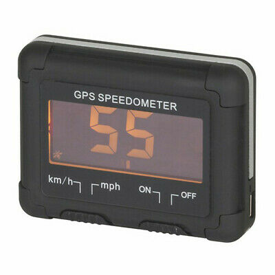TechBrands LCD GPS Rechargeable Speedometer