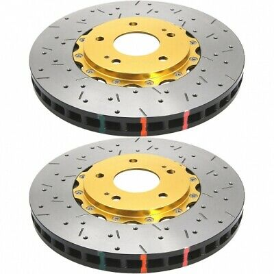 Centric Front OE Design Drilled Brake Rotors 2PCS For 2005-2011 Lotus Elise