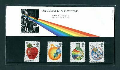 GB 1987 SIR Isaac Newton FIRST DAY COVER in MINT Condition