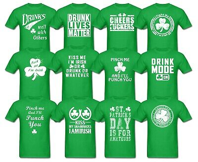 cf4f870dd St Patricks Day Drinking Tshirts Offensive Funny Beer Paddys Fathers dad T  Shirt