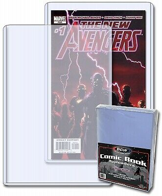 BCW Topload Holders - Current Comic (7 x 10 3/4) - Rigid Sleeves Pack of 10