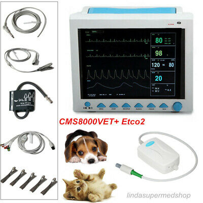 CONTEC Veterinary PET VET Patient monitor+CO2 Multiparameter ICU machine Newest