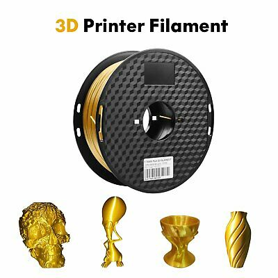 3D Printer Shiny Filament 1KG 1.75mm PLA Silk Gold Art Design Creality 3D Tronxy